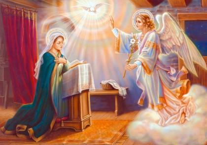 blБлаговещение Пресвятой Богородицы